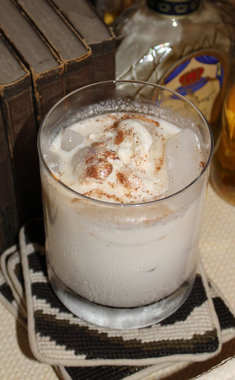 Bourbon Milk Punch (done skinny style too!) - Tlish