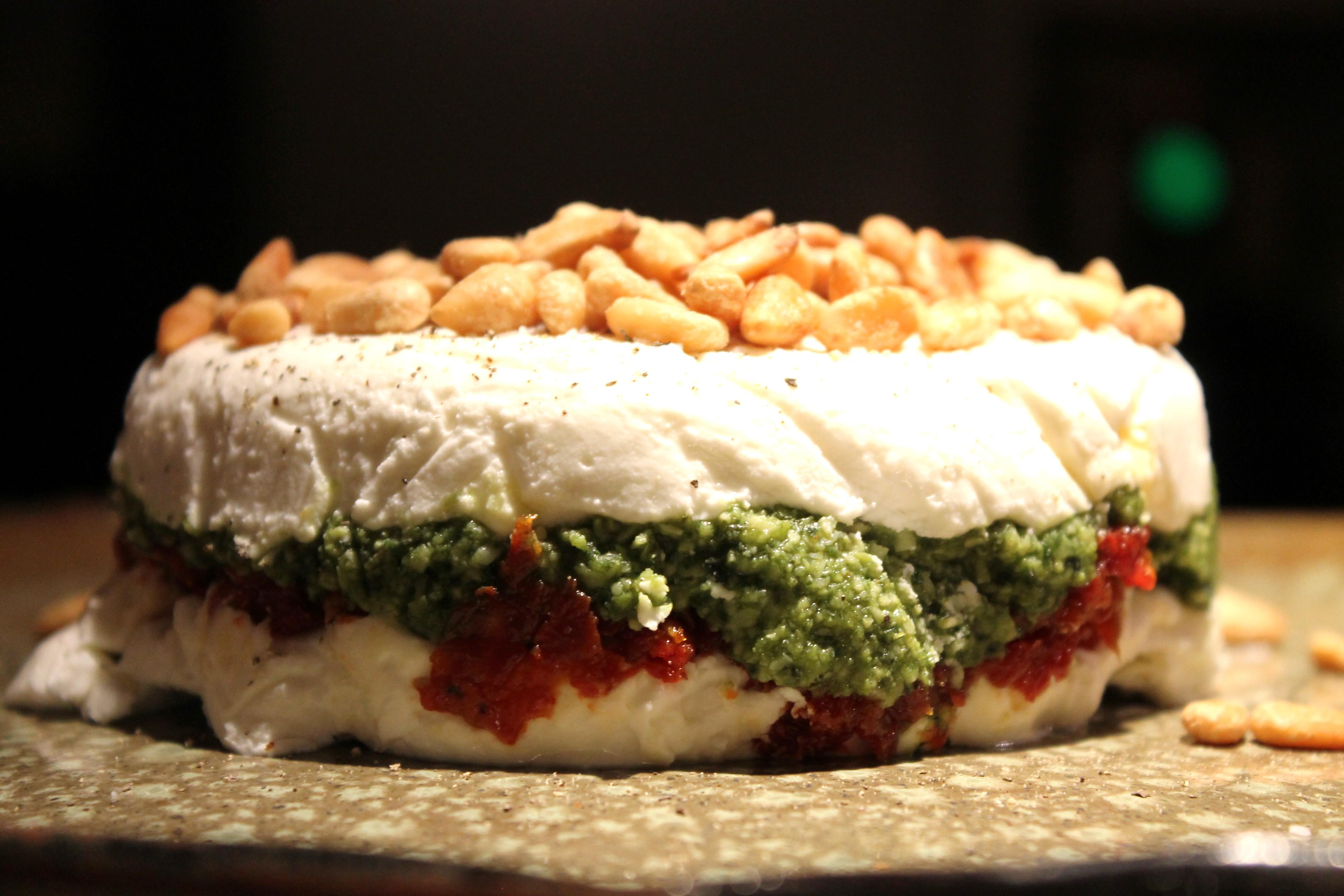 goat cheese torte